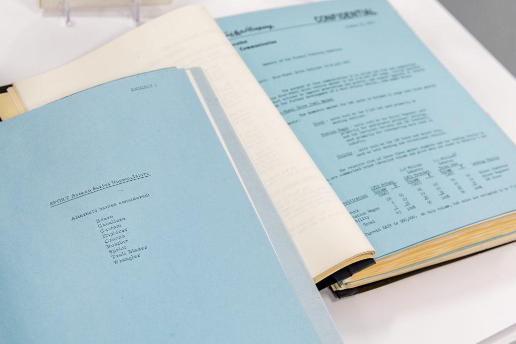 Bronco-archive-October-1963-blue-sheet