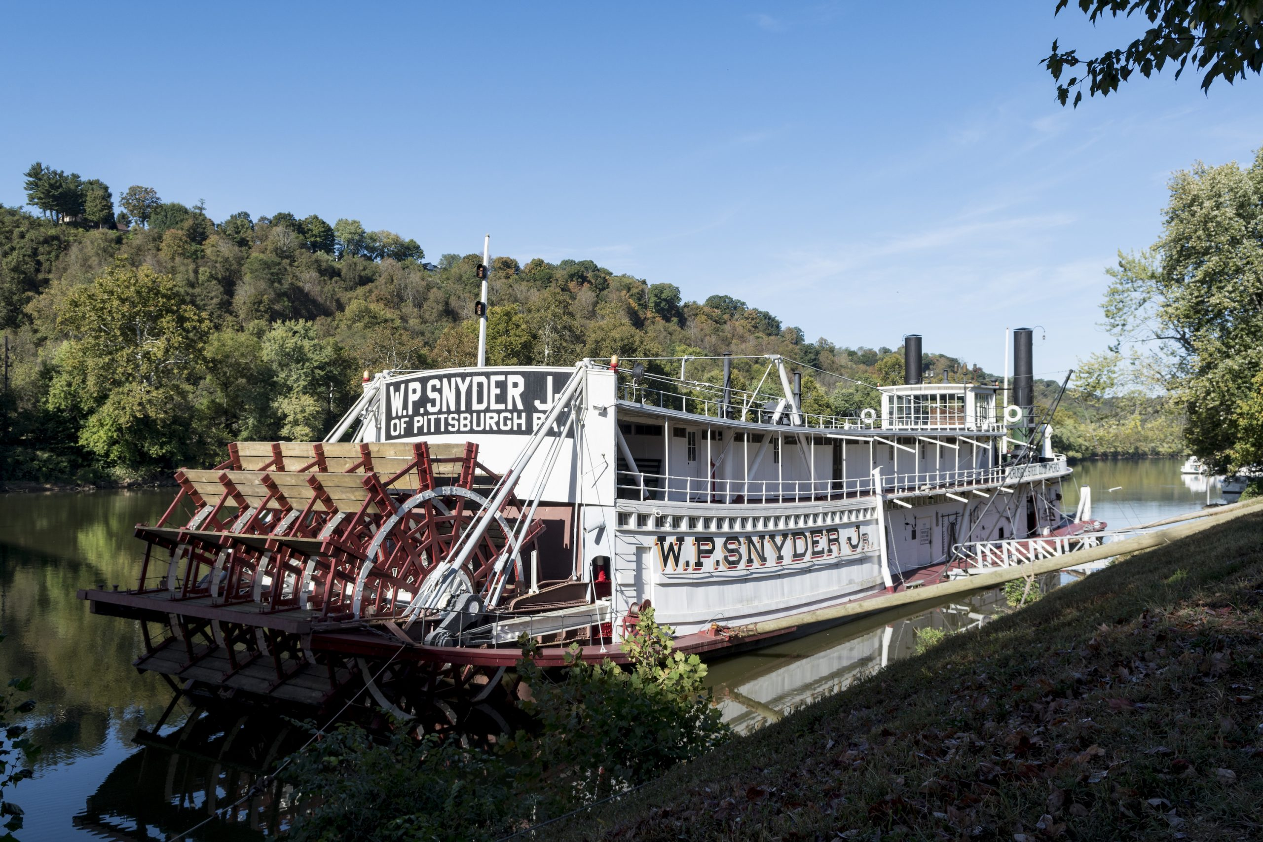 WP Snyder Steam Powered Ohio River Boat