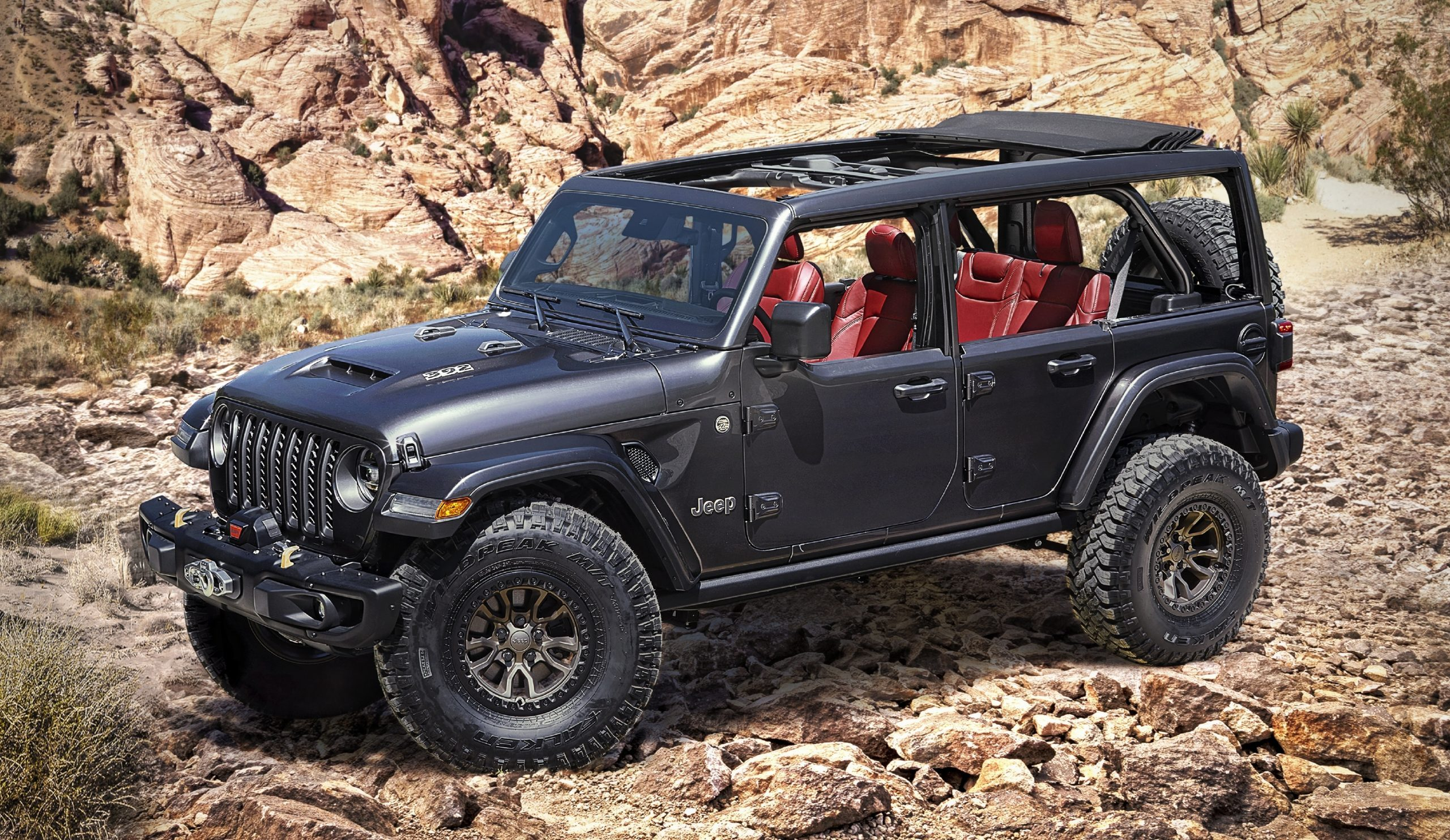 Gallery   Remington Off-Road Edition White 2019 Jeep