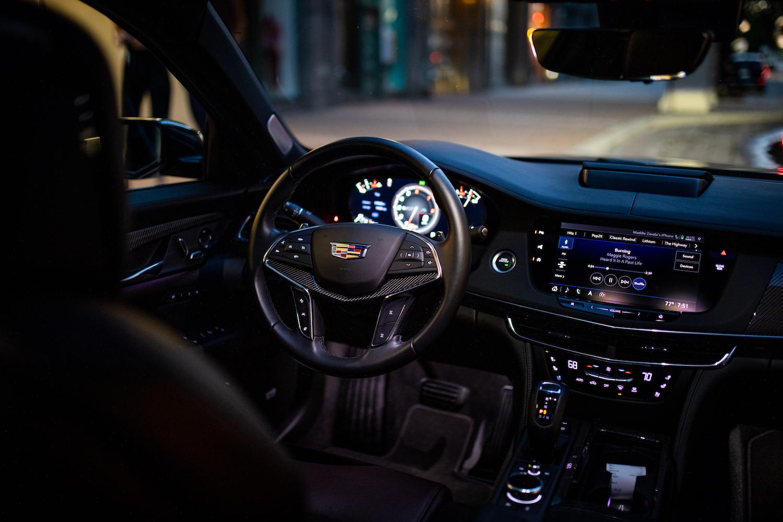 Cadillac CT6-V Interior