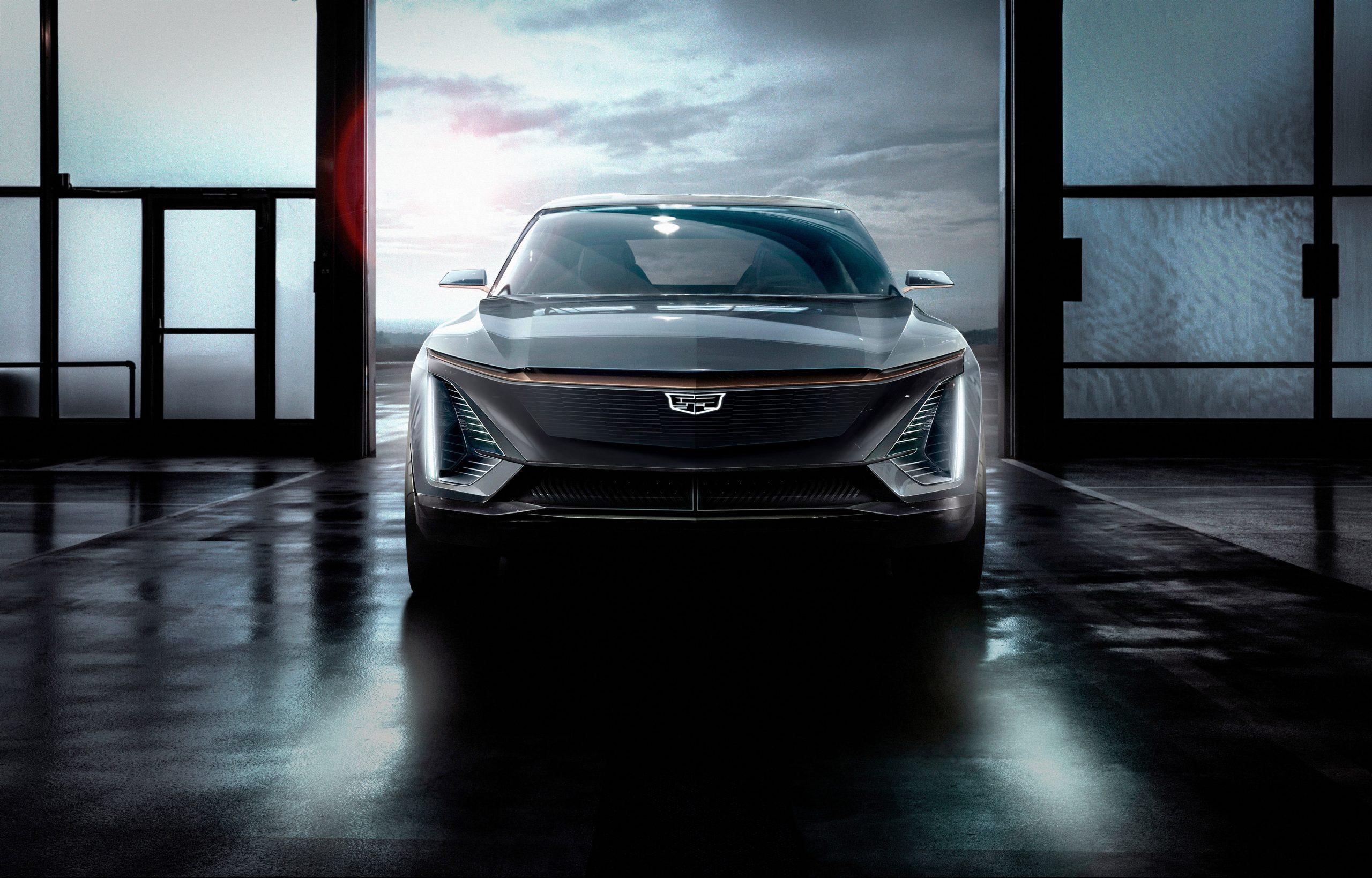 Cadillac EV concept 2019 NAIAS front