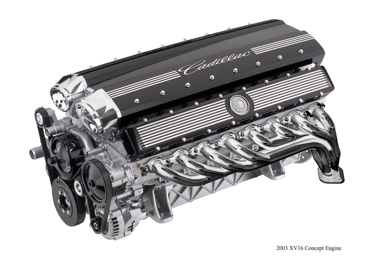 Cadillac Sixteen Concept Engine