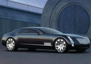 Cadillac Sixteen Concept Exterior Front Three-Quarter