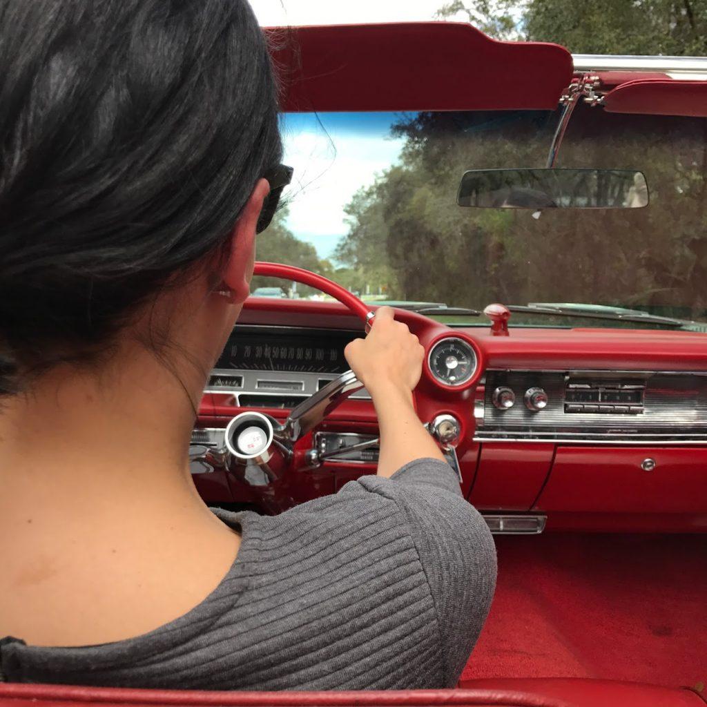 Driving Cadillac
