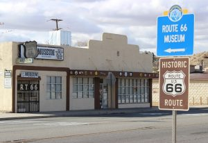 California Route 66 Museum - front of building