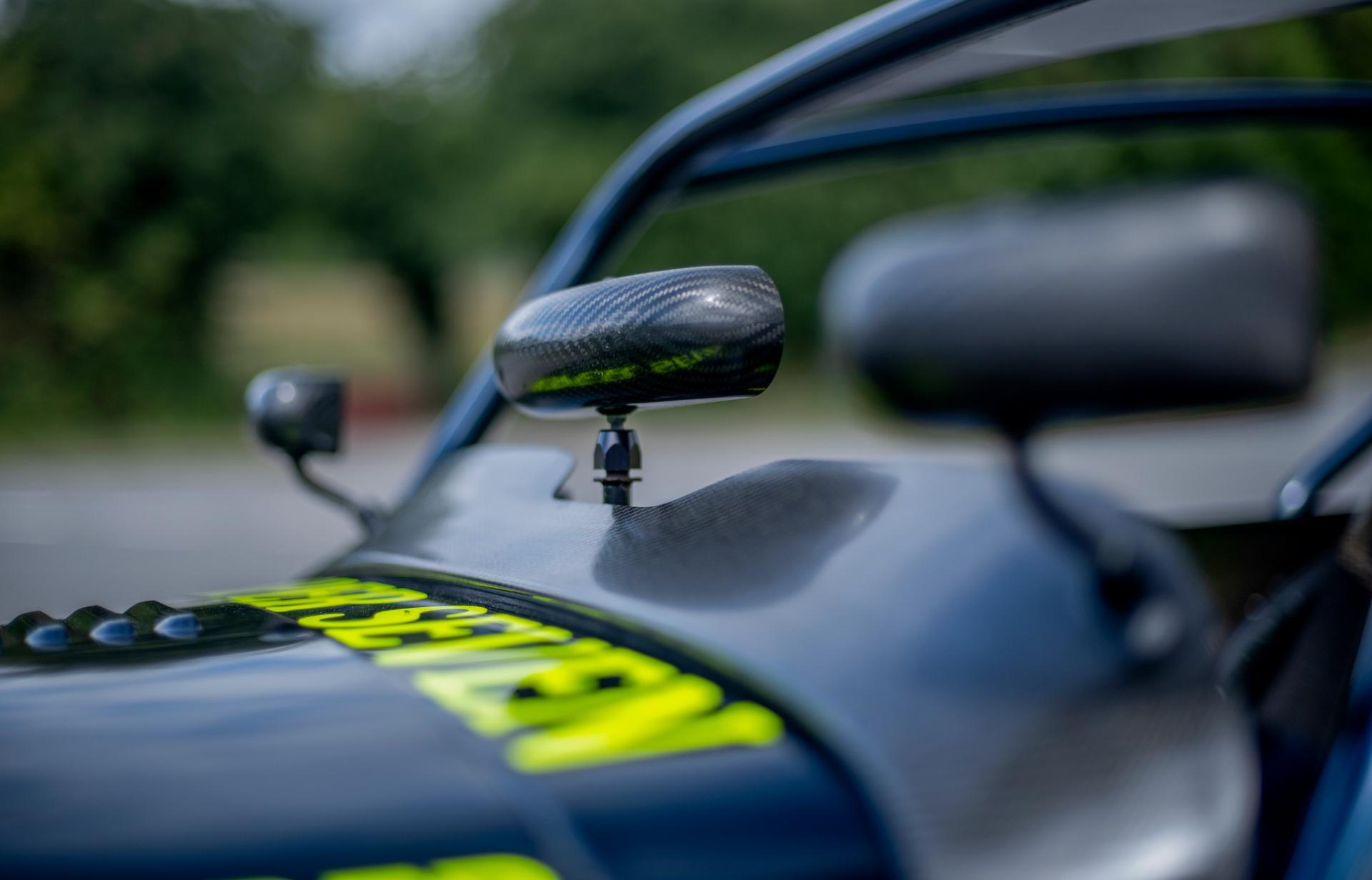 Caterham 7 JPE carbon fiber rear view mirror