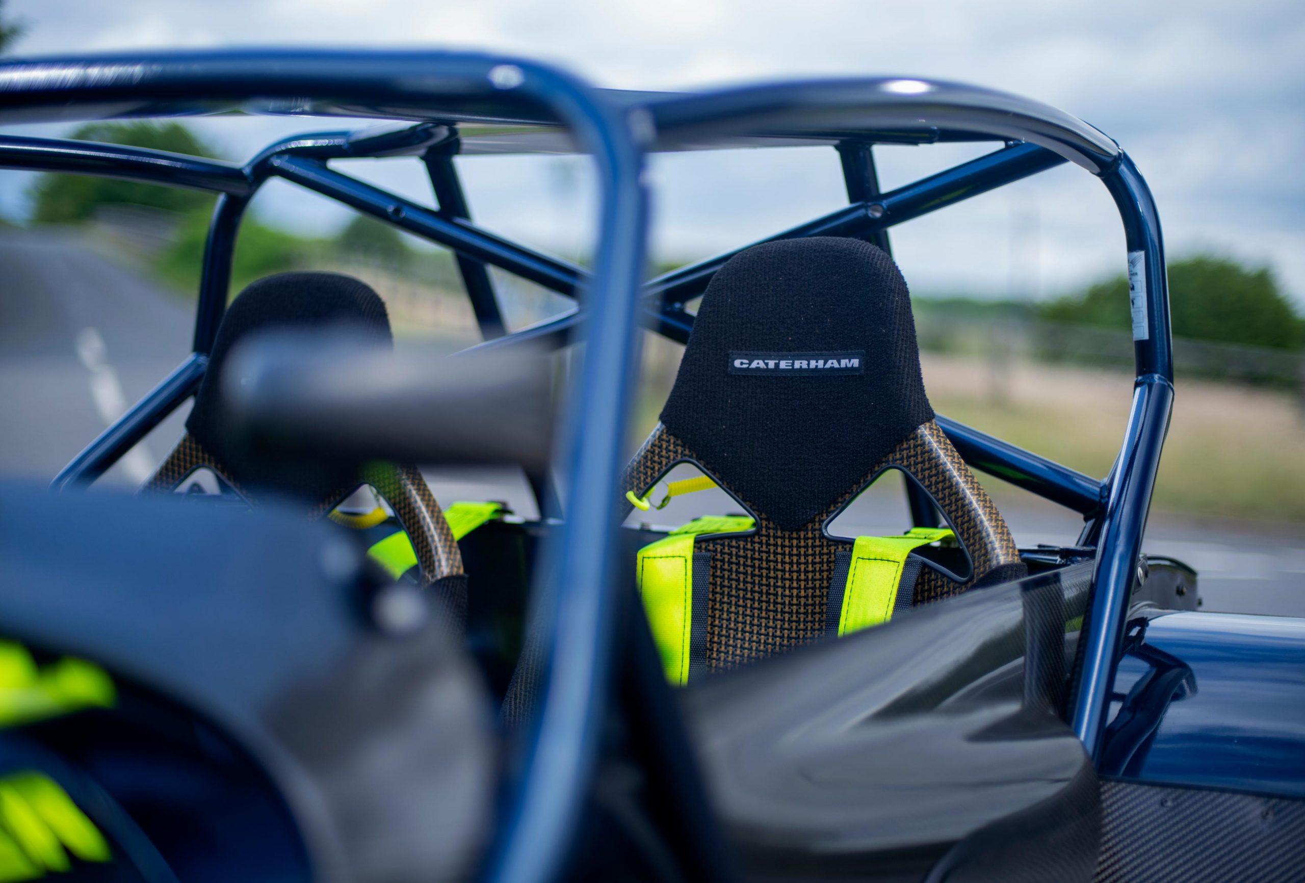 Caterham 7 JPE rollbar frame seat