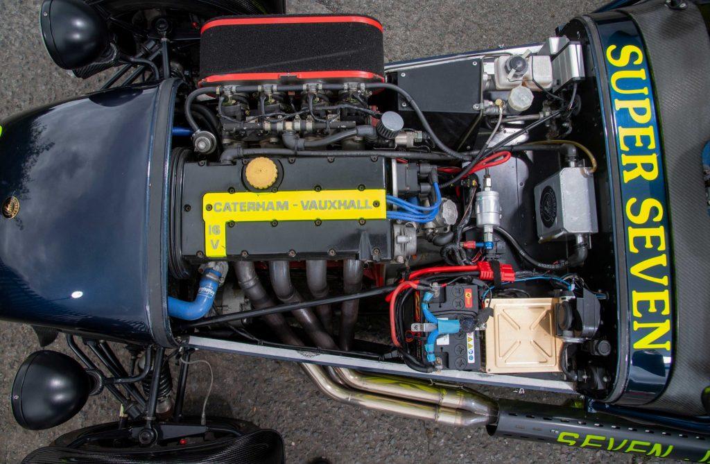 Caterham 7 JPE engine Vauxhall
