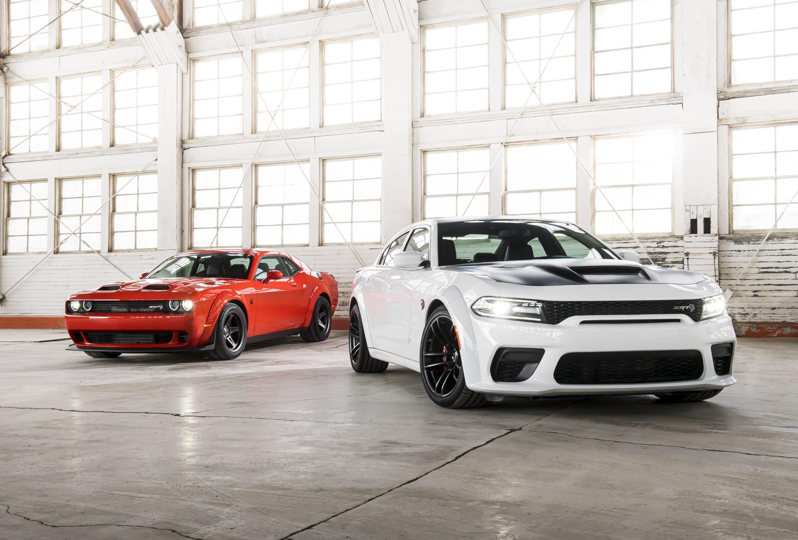 2021 Charger SRT Hellcat Redeye 2021 Durango SRT Hellcat 2020 Challenger SRT Super Stock