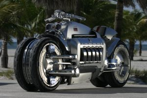 Dodge Viper Tomahawk Front Three-Quarter