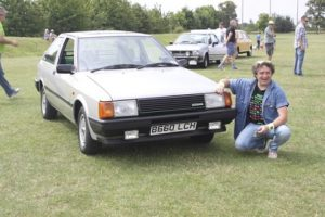 Eddie Rattley Nissan Cherry Europe GTi Hagerty Festival of the Unexceptional