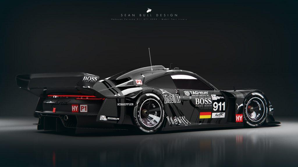 2022 Porsche GT1 Concept