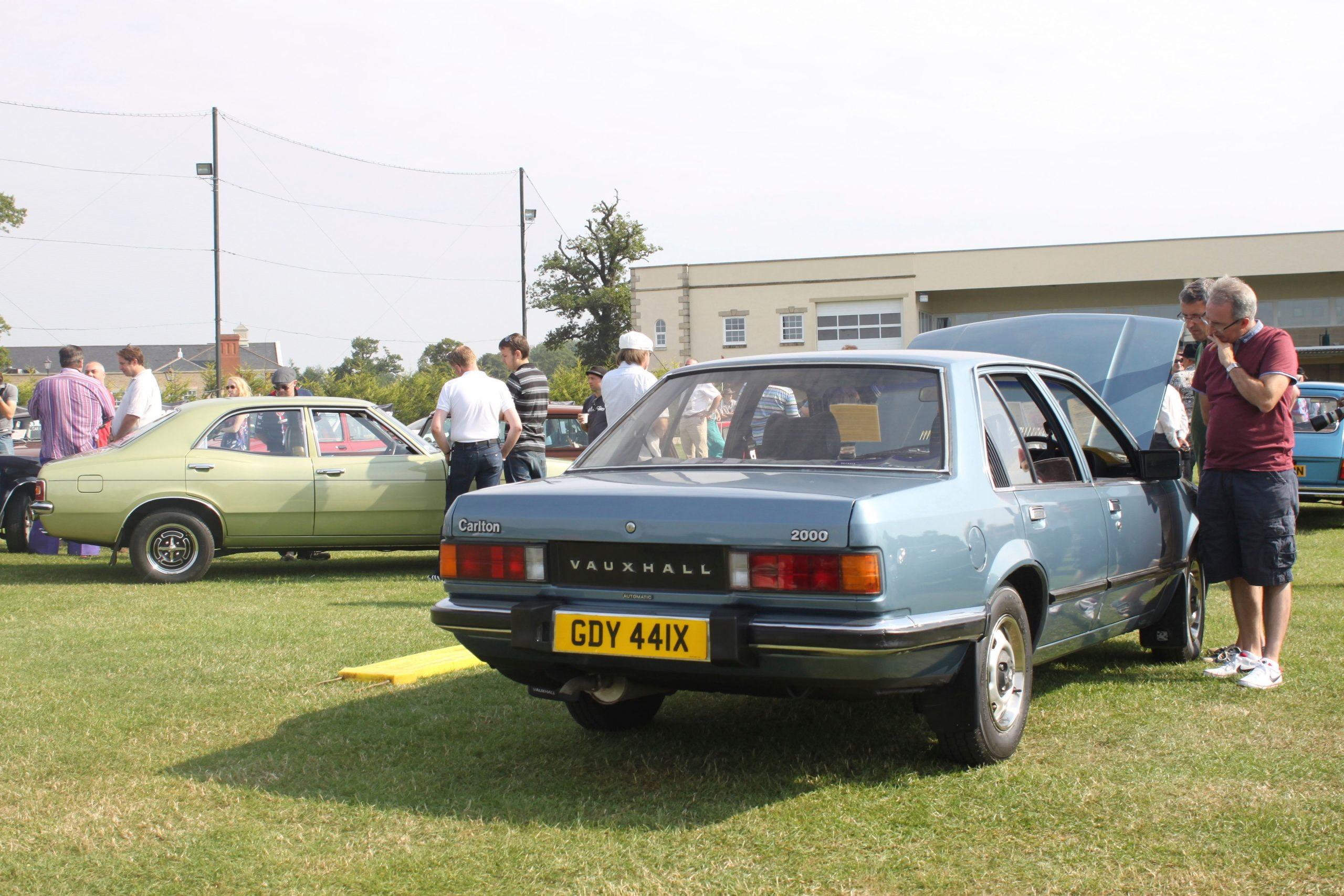 Hagerty Festival of the Unexceptional 2014 Vauxhall 2000