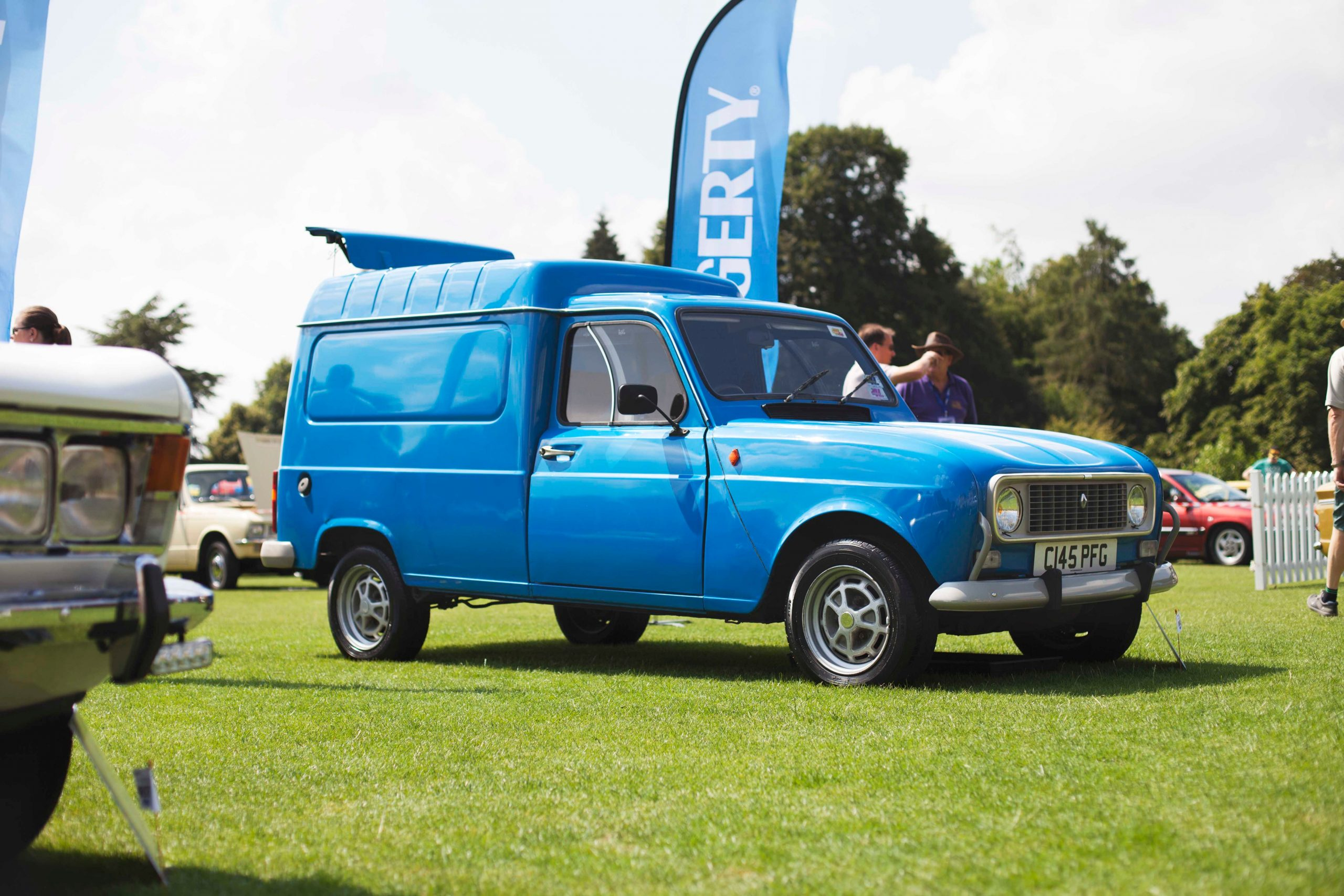 Festival of the Unexceptional 2018 Renault truck