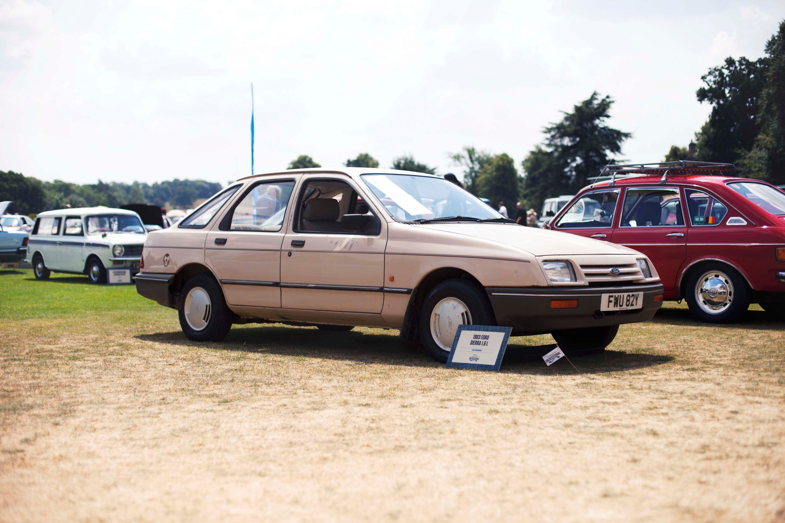 Hagerty Festival of the Unexceptional 2018 Ford Sierra