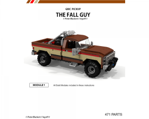 Fall Guy Lego truck