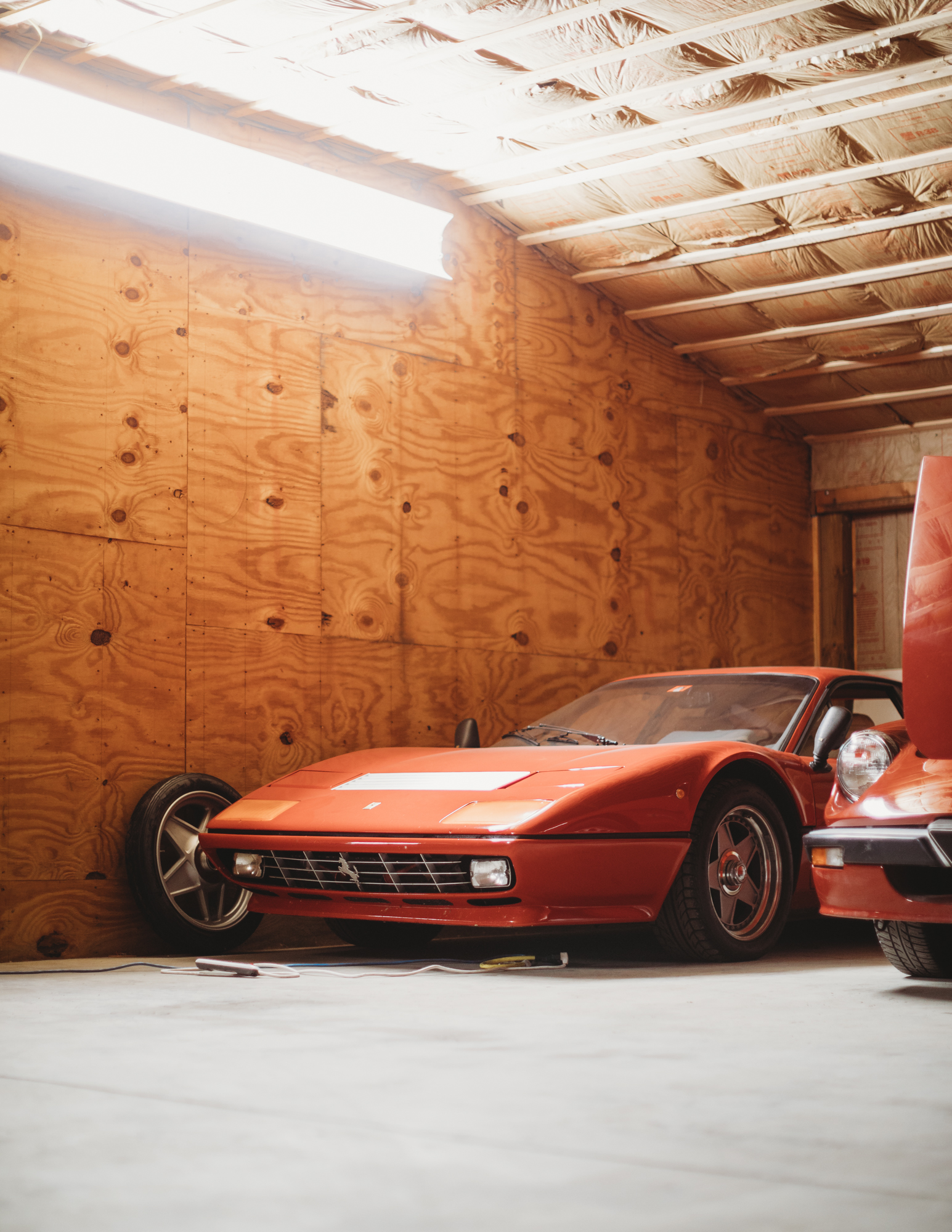 Green Mountain Restoration Shop Ferrari
