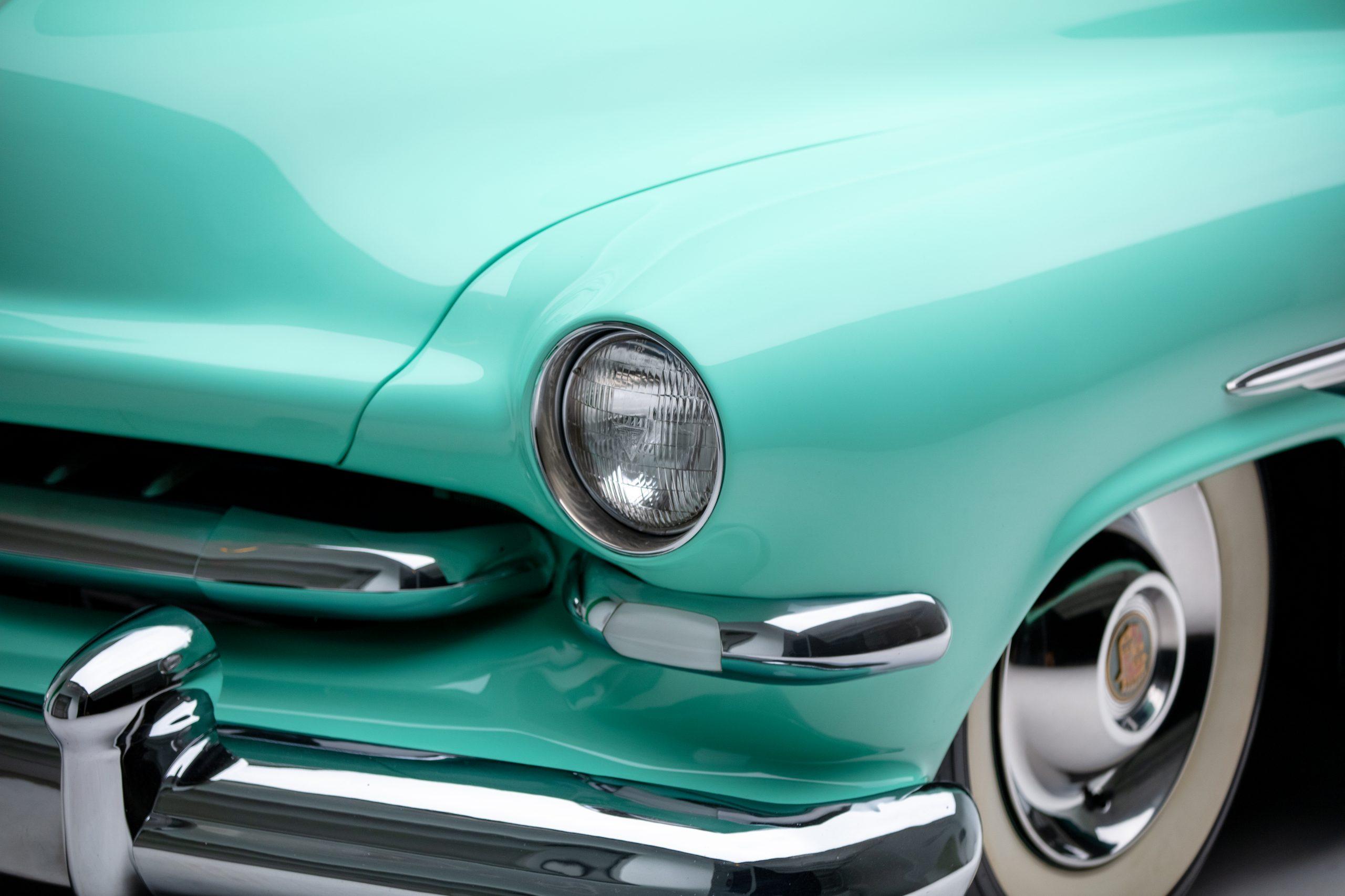 HVA Hirohata Mercury close-up drivers headlight