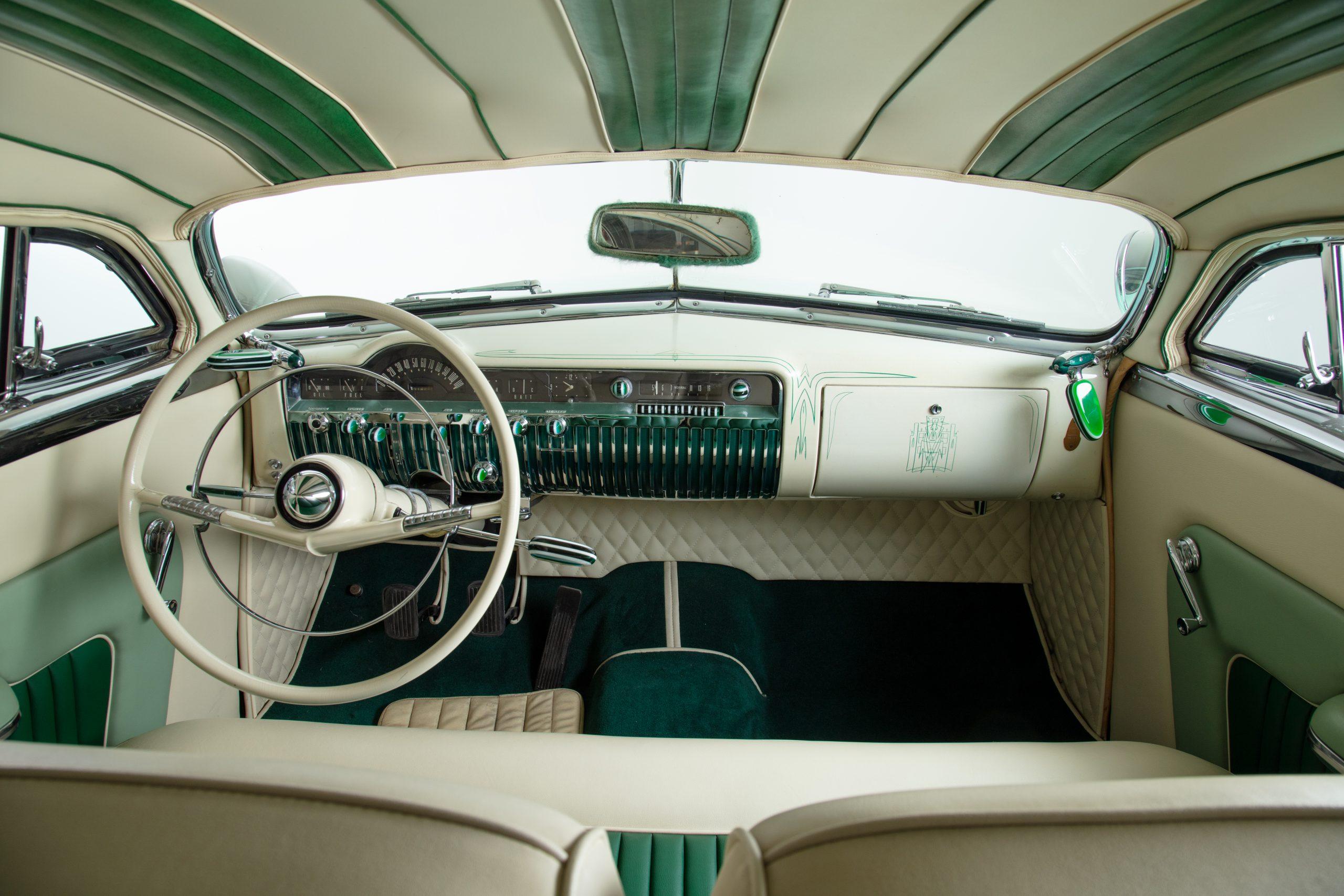 HVA Hirohata Mercury Interior from rear