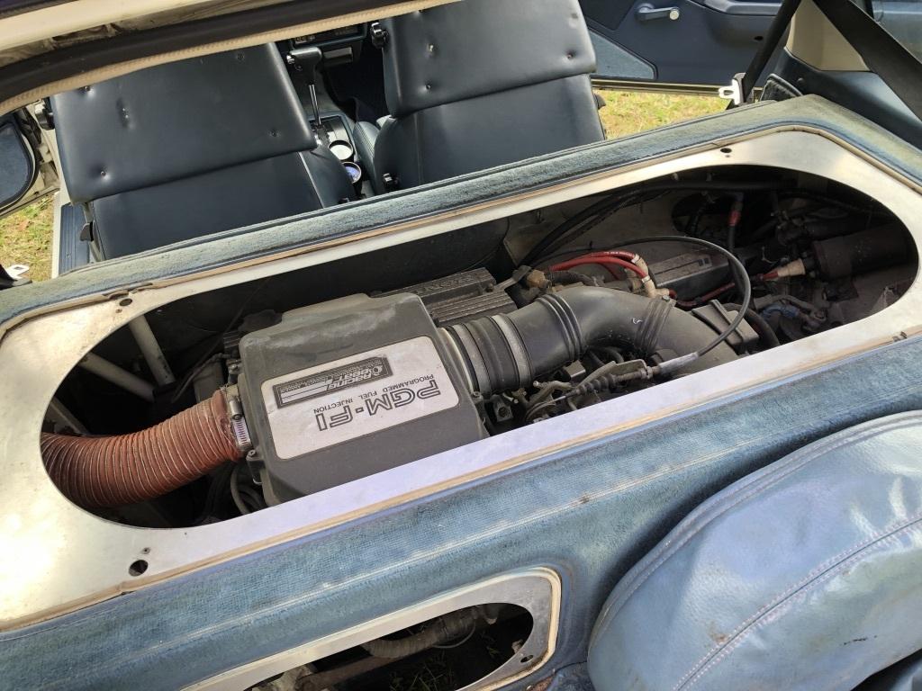 Honda CRX PGM FI Engine Cover Open