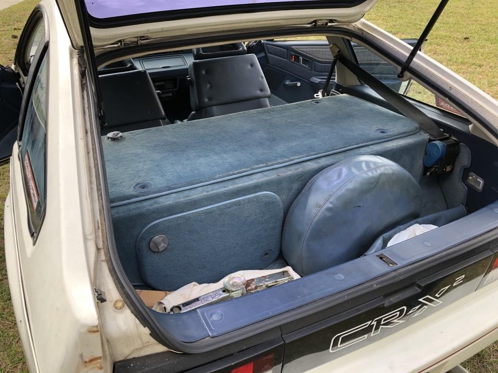 Honda CRX PGM FI Open Rear Hatch