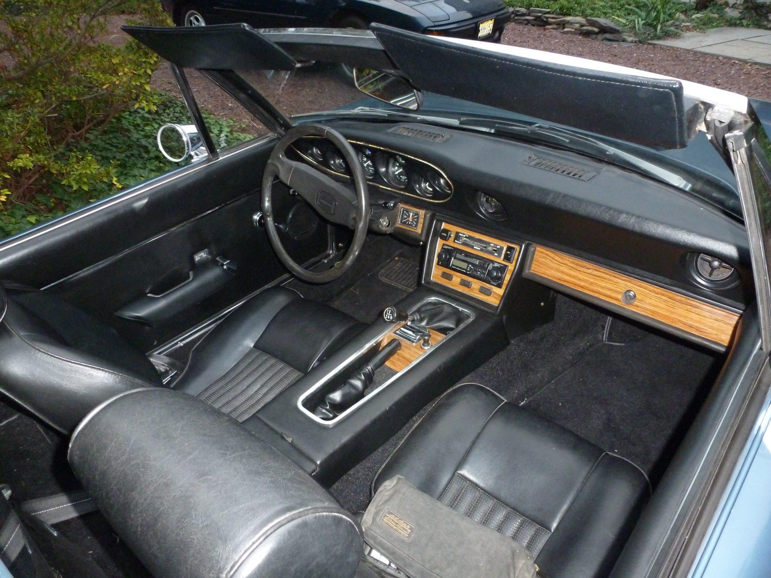 1974 Jensen-Healey interior