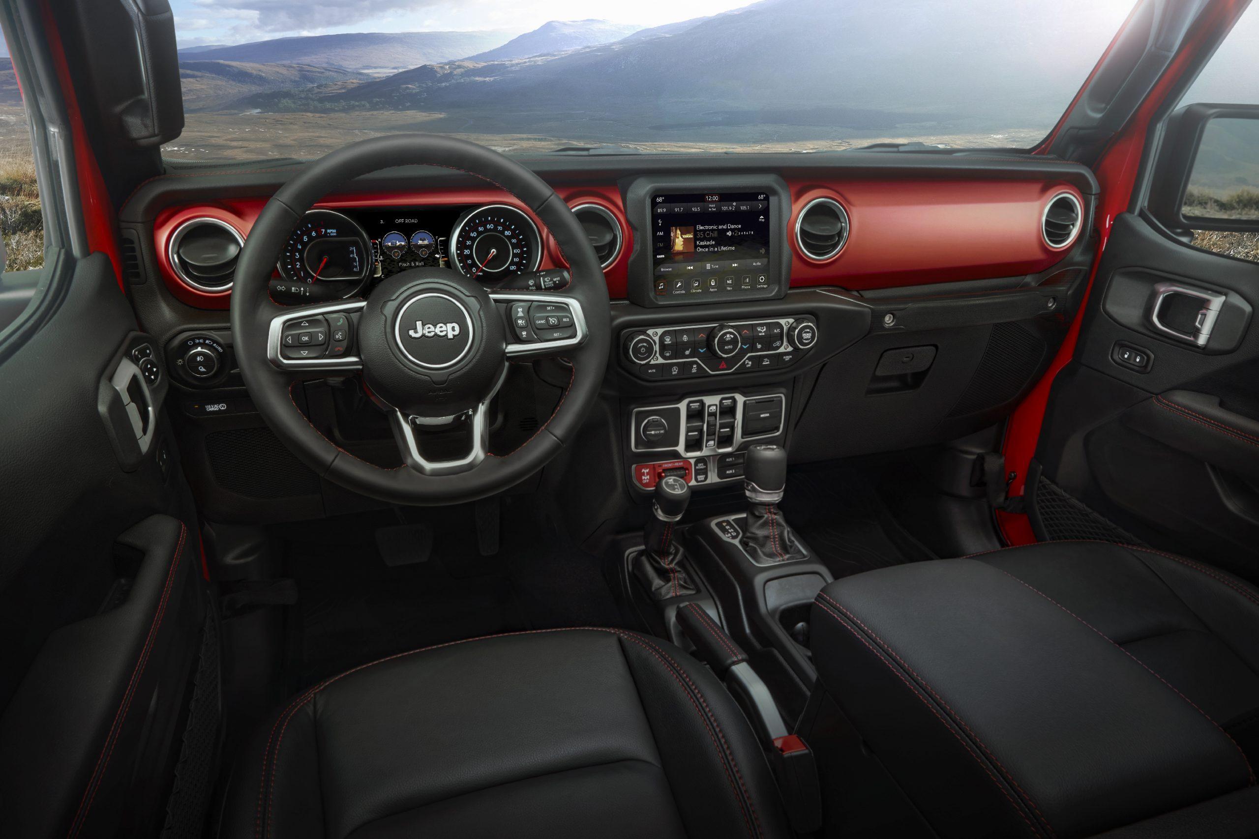 2020 Jeep® Gladiator Interior