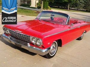 Klockau Roman Red 1962 Impala SS convertible