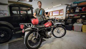 Getting a Kawasaki KE175 street-ready   Kyle's Garage – Ep. 4