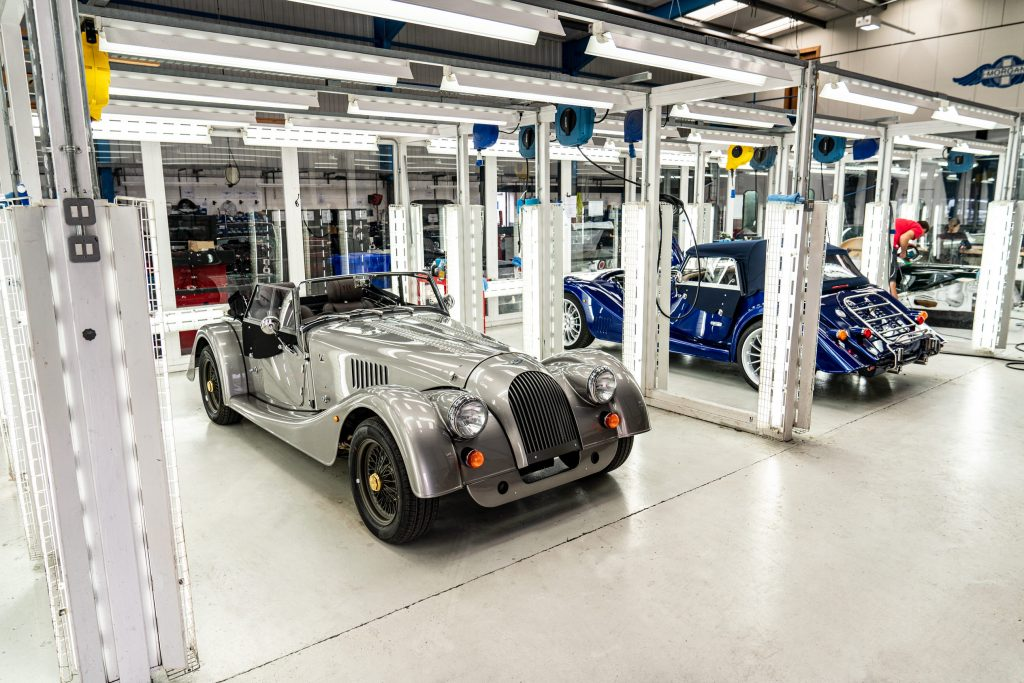 Laststeel chassis Morgan pre delivery inspection