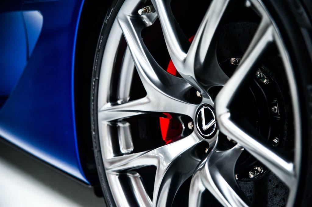 Lexus LFA BBS Magnesium Wheel