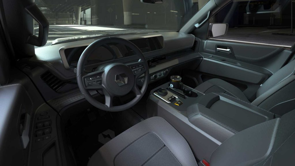 Lordstown Motors Endurance Interior