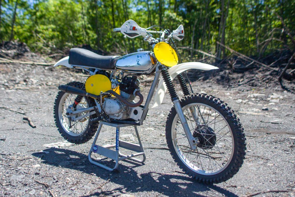 The Husky-Honda motorcycle