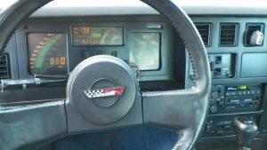 C4 Corvette LCD gauges