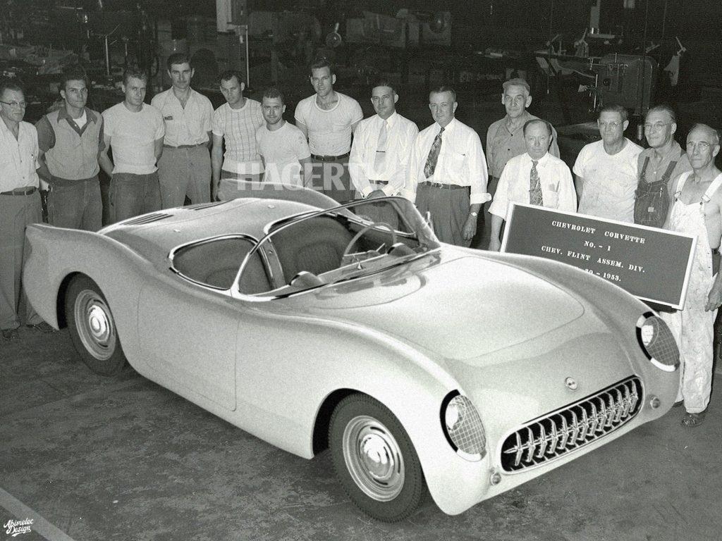 Mid Engine C1 Corvette Assembly Photo