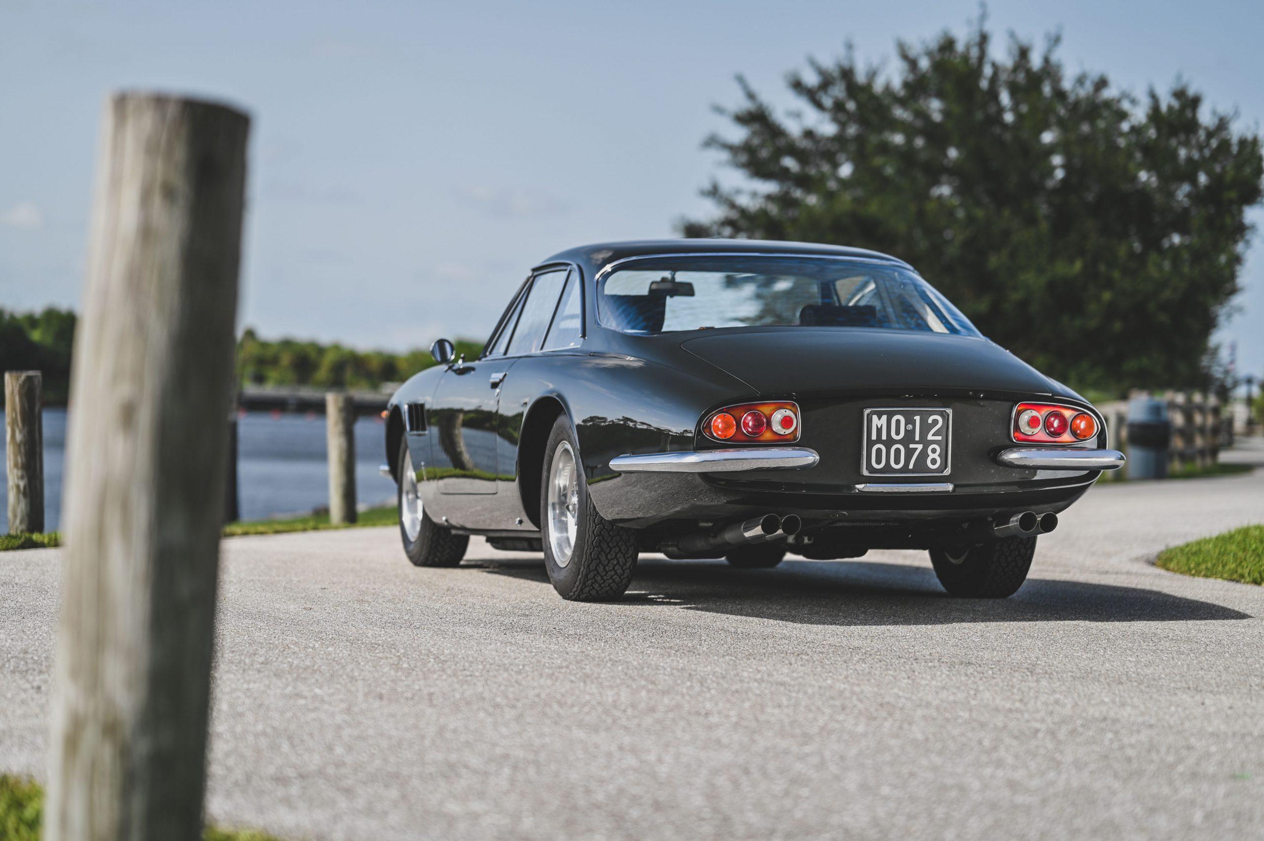 Ferrari 500 Superfast rear three-quarter