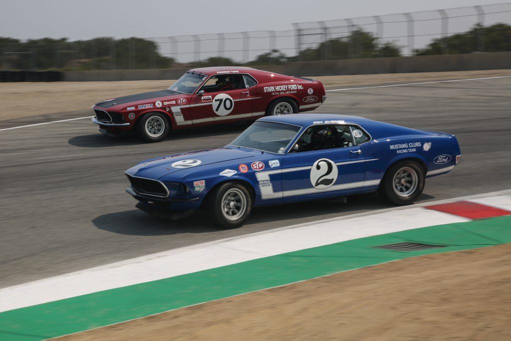 Mustang 302s Laguna Seca