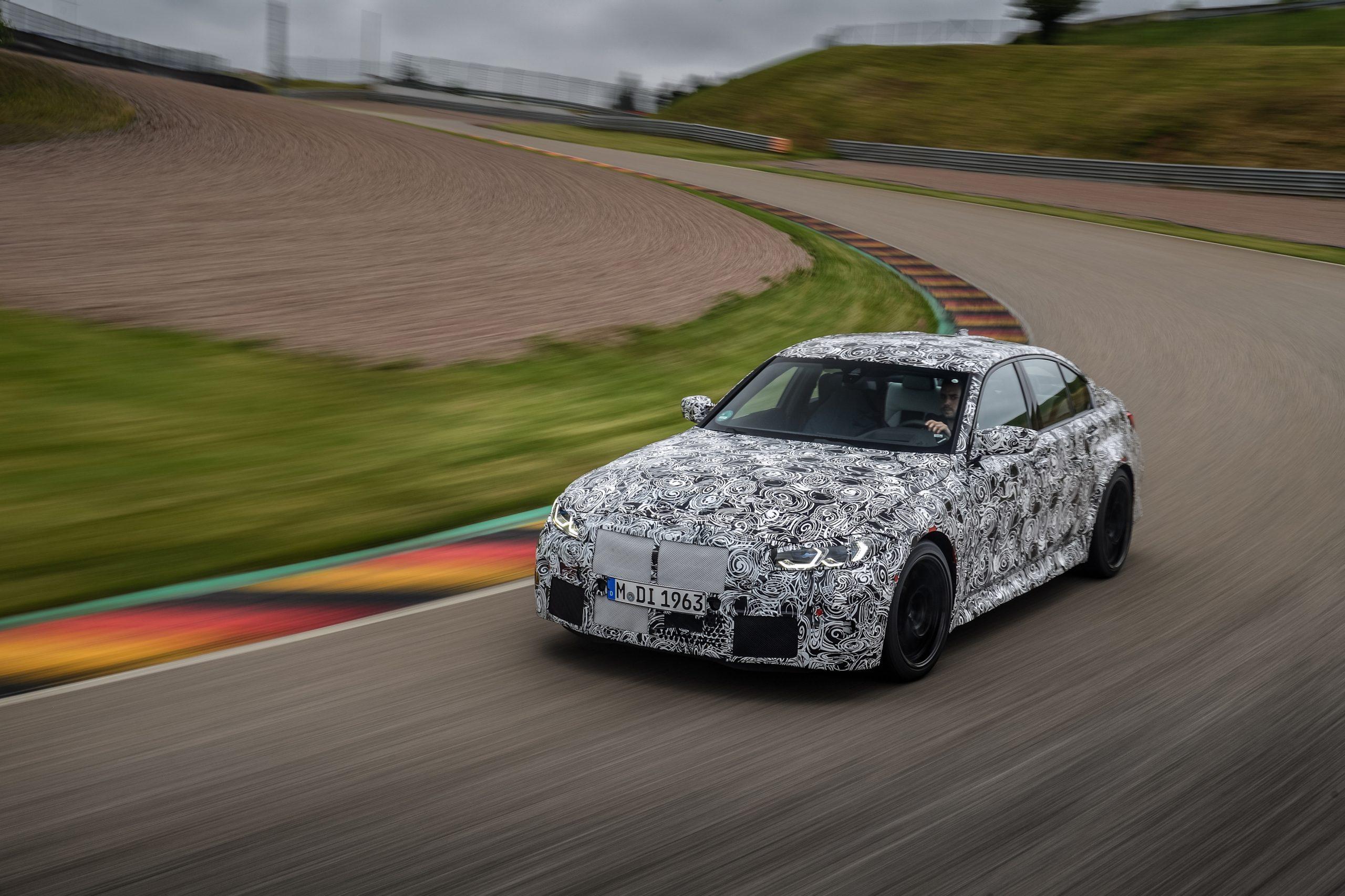 BMW M3 Ring testing 2