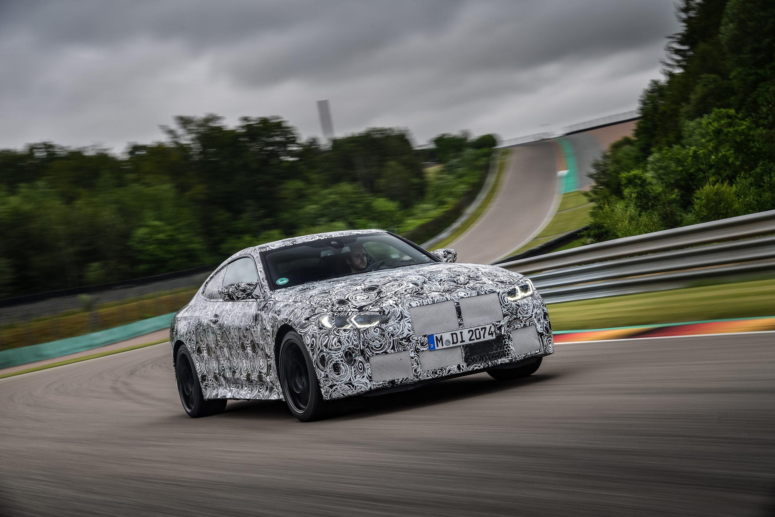 BMW M3 Ring testing 1