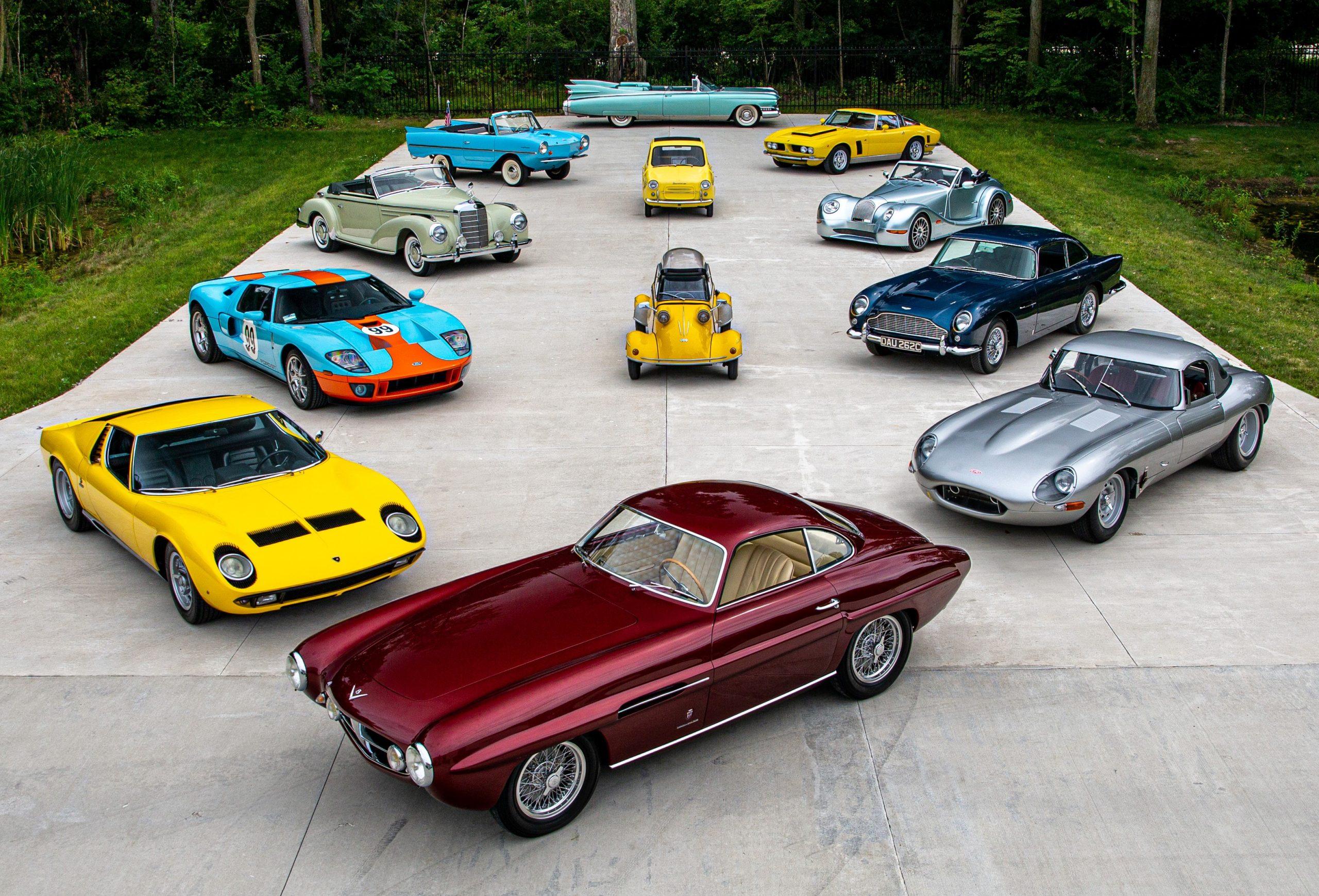 RM Elkhart Auction Car Lots Sample