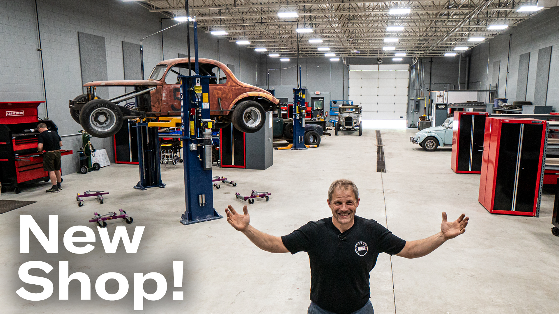 Hagerty's new garage space