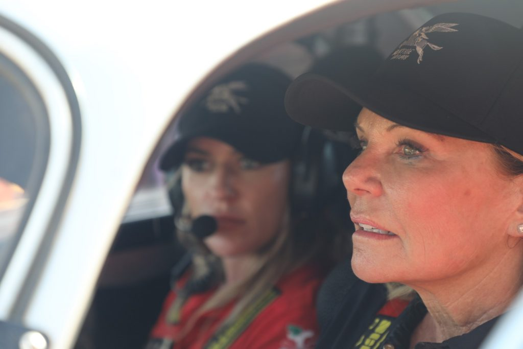 Renee Brinkerhoff - Valkyrie Project 356 World Rally Tour - Behind the wheel