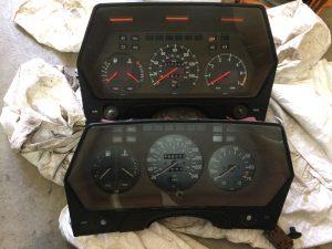 Rob Siegel - When one has to go - Euro BMW 1979 635CSi speedometer