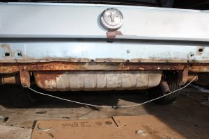 1966 Mustang Project Rust