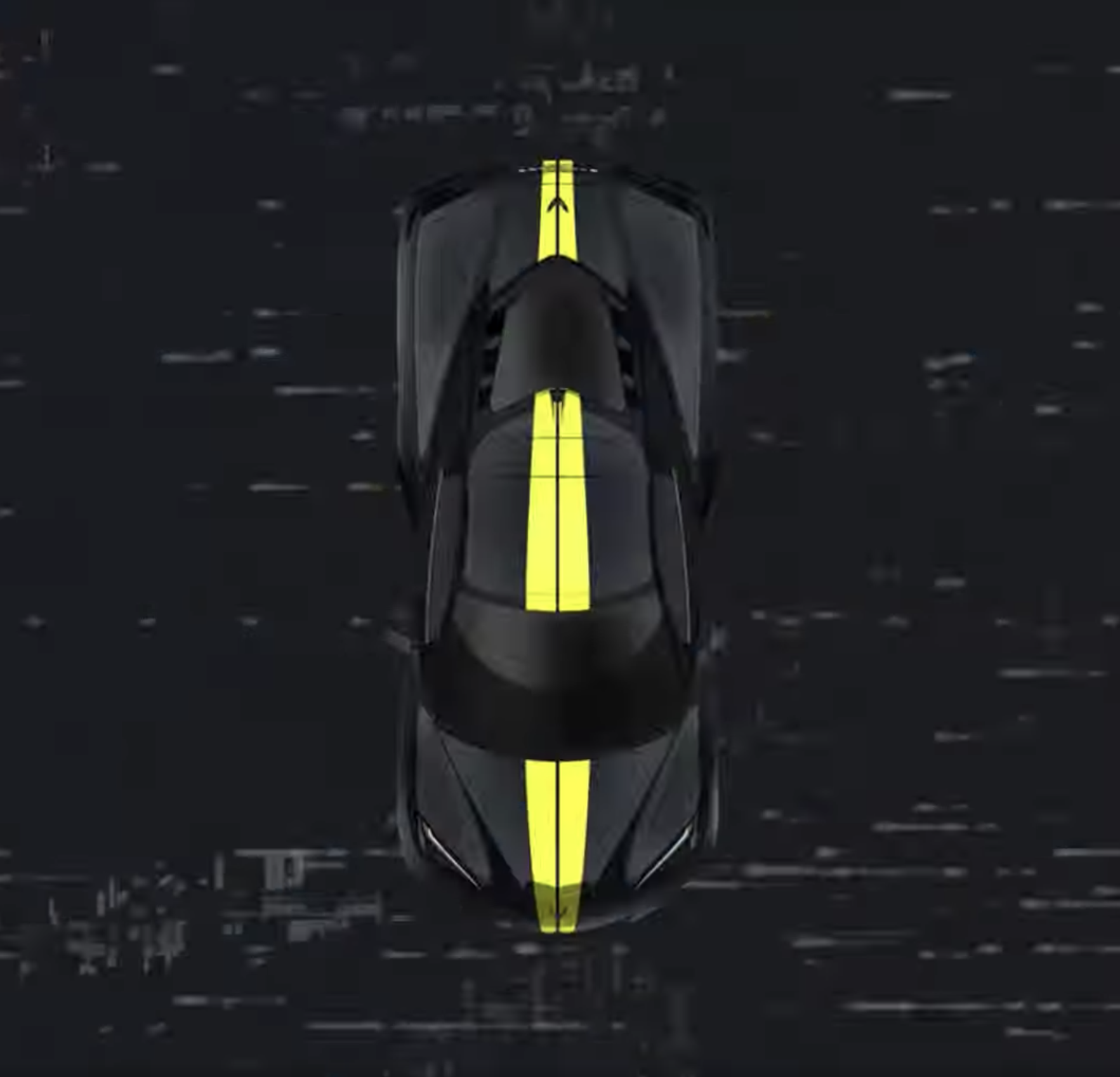 2021 Corvette C8 graphics stripes