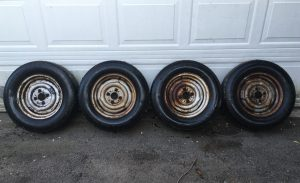 Siegel - Thinning out parts - Wheels with tires