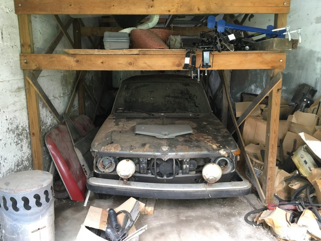 Siegel - Thinning out parts - BMW Bertha with crap around it