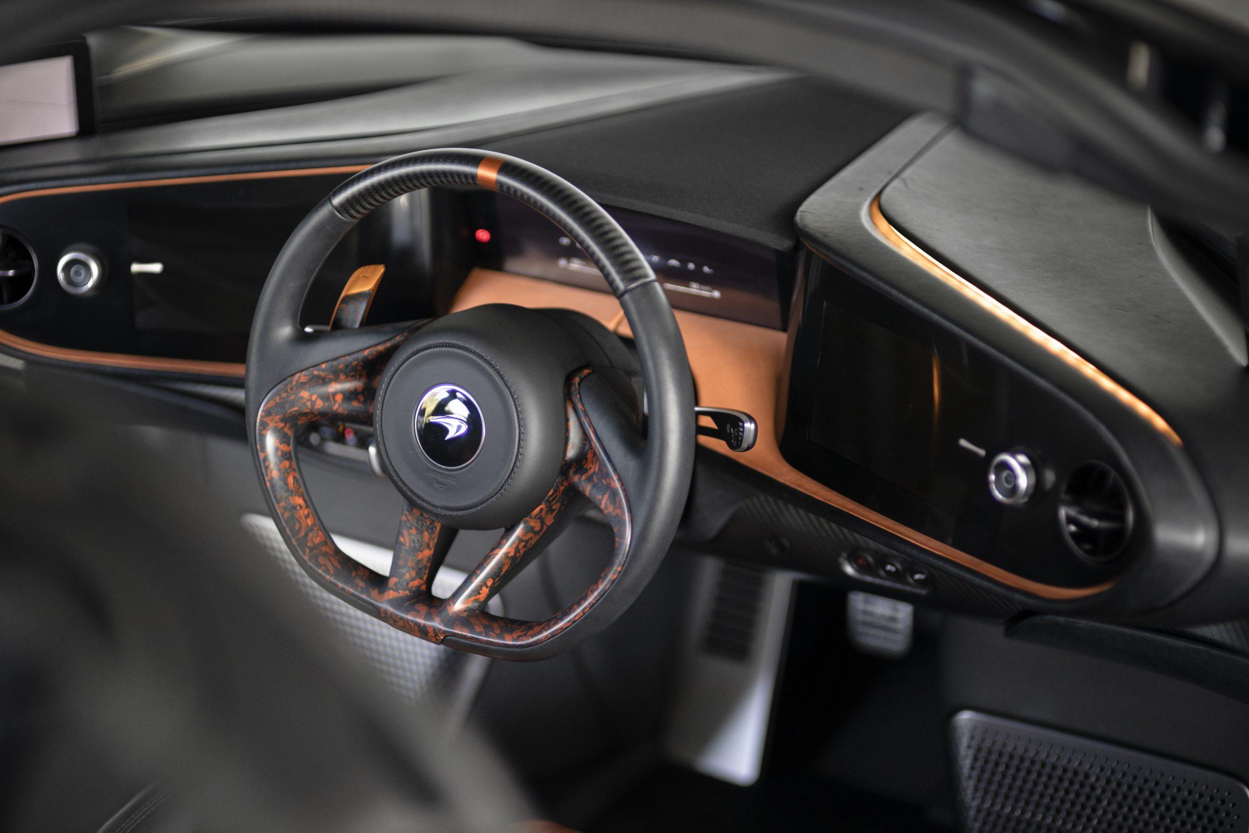 Speedtail PP1 Interior Steering Wheel