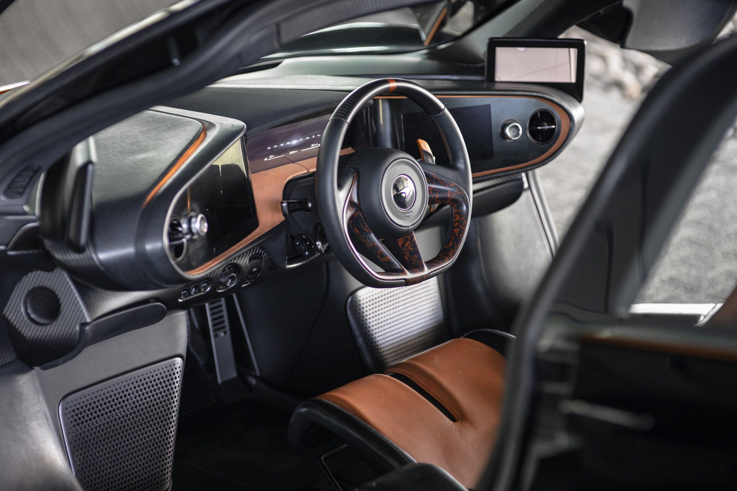 Speedtail PP1 Interior Front