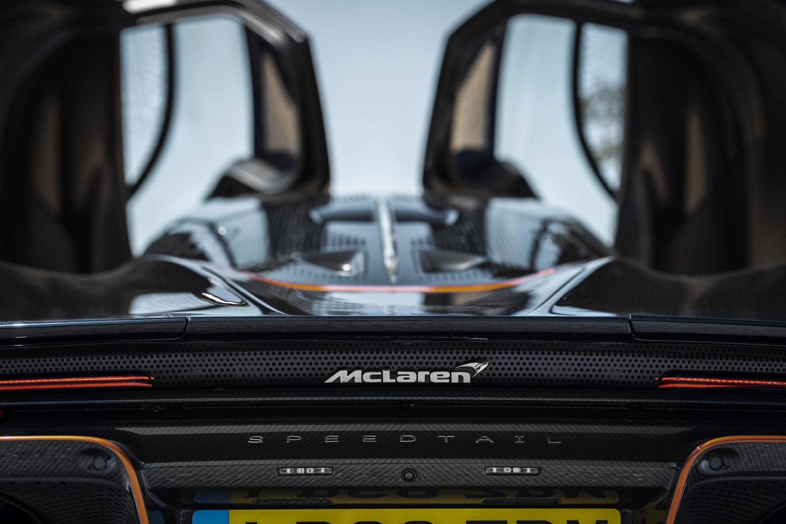 Speedtail PP1 Rear McLaren Badging